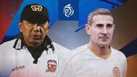 BRI Liga 1 - Duel Pelatih - Madura United Vs Persija Jakarta (Bola.com/Adreanus Titus)