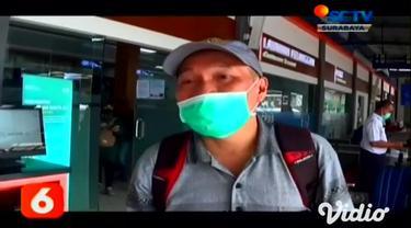 Dampak banjir yang terjadi di sejumlah wilayah di Jakarta, PT KAI Daop 8 Surabaya, Senin (22/2) pagi membatalkan 7 jadwal keberangkatan kereta api dari Surabaya ke Jakarta.