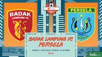 Shopee Liga 1 - Badak Lampung FC Vs Persela Lamongan (Bola.com/Adreanus Titus)