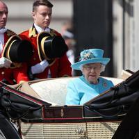 Ratu Elizabeth II. (Daniel LEAL-OLIVAS / AFP)
