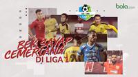 Bek sayap cemerlang di Liga 1. (Bola.com/Dody Iryawan)