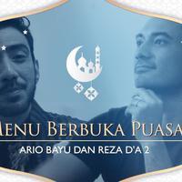 Menu favorit berbuka puasa Ario Bayu dan Reza DA 2.