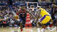 Aksi John Wall memimpin Wizards kalahkan Lakers (AP)