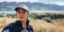 Naysila Mirdad, salah satu artis yang merindukan liburan. Mengingat sekarang ini situasi tengah mengkhawatirkan karena adanya wabah pandemi Covid-19. Seperti diketahui, Naysila memiliki hobi traveling.  (Instagram/naymirdad)