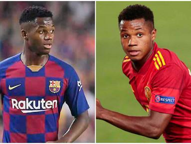Bocah ajaib milik Barcelona, Ansu Fati, kembali mencatatkan namanya di buku rekor. Kali ini, jebolan La Masia itu mencetak rekor sebagai pemain termuda yang mampu mencetak gol bagi Timnas Spanyol. Berikut ini kami rangkum lima rekor sensasional Ansu Fati.