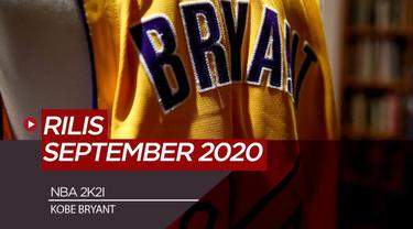 Berita Video NBA 2K21 Gunakan Kobe Bryant Jadi Cover Gim, Rilis September 2020