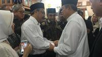 Calon duta besar (ambasador-designate) Malaysia untuk Indonesia, Zainal Abidin Bakar bertemu Presiden ke-6 RI, Susilo Bambang Yudhoyono di Cikeas, Minggu 2 Juni 2019 (Kedutaan Besar Malaysia, Jakarta)