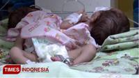 Bayi kembar di RSUD Tongas, Kabupaten Probolinggo (TIMES Indonesia/Happy)