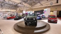 """Booth Suzuki bertema """"Urban Sporty Gear"""" juga berhasil meraih peringkat kedua Booth Terfavorit Pengunjung Kategori Ukuran 1.000-2.000 m2."""
