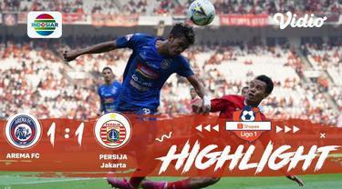 Pertandingan Shopee Liga 1 antar Arema vs Persija berakhir dengan score imbang yaitu 1 -1 dan berikut adalah highlights pertanding...