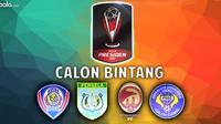 Piala Presiden: Calon Bintang Grup B (Bola.com/Samsul Hadi)