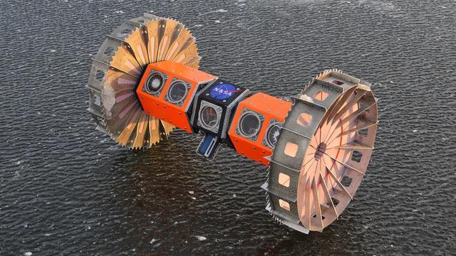 Kendaraan penjelajah bawah air NASA untuk berburu alien. (NASA)