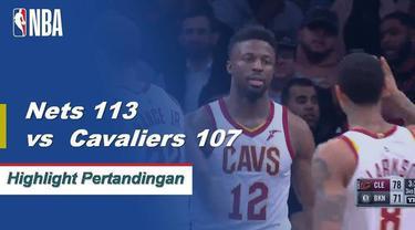 D'Angelo Russell dan Spencer Dinwiddie bergabung dengan 53 poin saat Brooklyn menang atas Cleveland.