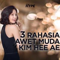 3 Rahasia Awet Muda Kim Hee Ae The World of The Married