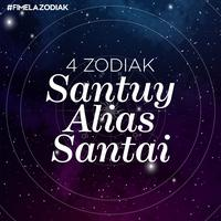 4 Zodiak Santuy Alias Santai