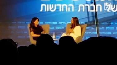 Monica Lewinsky marah saat melakukan sebuah wawancara di Israel. Lewinsky tiba-tiba pergi saat ditanya soal mantan Presiden AS, Bill Clinton yang pernah menjadi selingkuhannya.