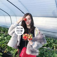 Mantap melanjutkan studi di Korea, dandanan Ranty Maria yang effortless memang ikonik. (Sumber foto: rantymaria/instagram)