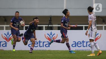 Bali United Bungkam Persita Tangerang 2-1