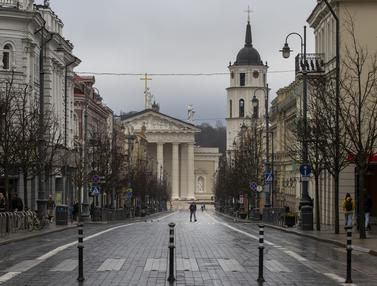 Redam Penyebaran COVID-19, Lithuania Lockdown Tiga Minggu