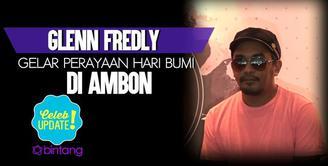 Glenn Fredly bahas tentang perayaan hari bumi di Ambon.