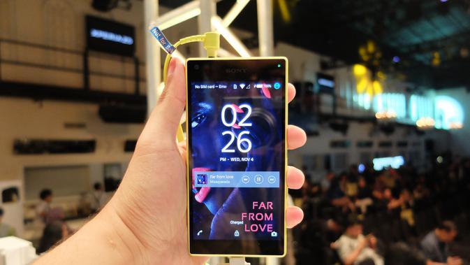 Sony Xperia Z5 (Liputan6.com/Jeko Iqbal Reza)
