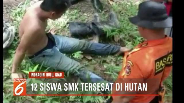 Belasan siswa dan seorang pendamping yang hilang tersebut ditemukan dalam kawasan hutan yang berjarak 10 kilometer dari basecamp.