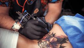 Ilustrasi tato (iStockphoto)