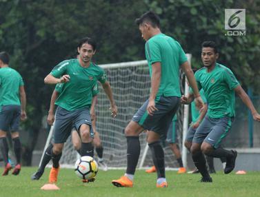 Skuat Lengkap, Timnas Indonesia U-23 Matangkan Pola Permainan