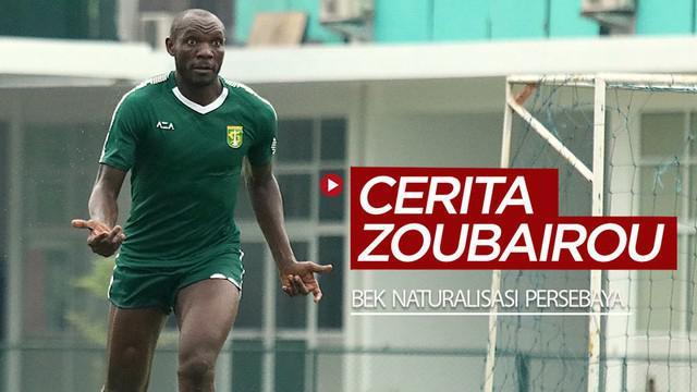 Berita video wawancara dengan bek naturalisasi di tim Persebaya, Zoubairou Garba, yang menceritakan mulai dari soal puasanya, tanggapannya terhadap Bonek, hingga insiden memecahkan bola ketika menghadapi Persib.