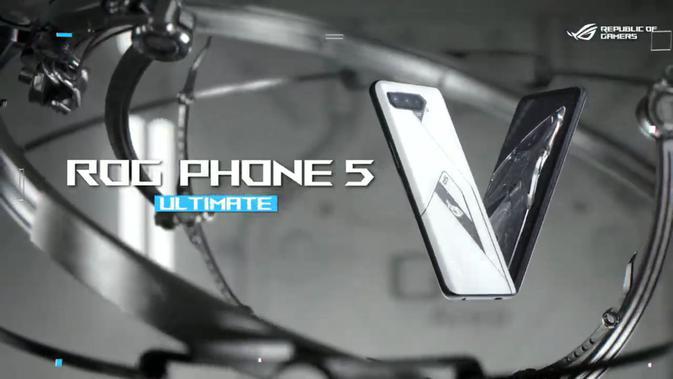 Penampakan ROG Phone 5 Ultimate, smartphone pertama di dunia dengan RAM 18GB. (Doc: Asus)