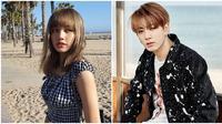 Lisa Blackpink dan Jungkook BTS dinominasikan jadi 'pasangan favorit' di Nickelodeon Kids' Choice Awards Mexico 2019. (Sumber: Instagram/@lalalalisa_m/@bts.bighitofficial)