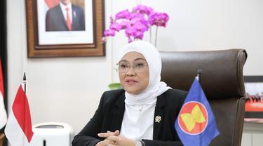 Hadapi Pandemi Covid-19, Menaker Ida Galang Dukungan ASEAN OSHNET