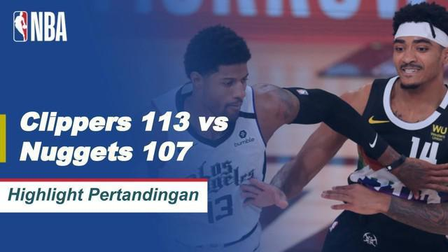 Berita Video Highlights NBA, LA Clippers Vs Denver Nuggets 113-107