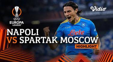 Berita Video highlights Liga Europa, Spartak Moscow berhasil membawa pulang tiga poin dari markas Napoli, Jumat (1/10/2021).