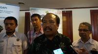 Kepala Pusat Vulkanologi dan Mitigasi Bencana (PVMBG) Badan Geologi, Kasbani. (Liputan6.com/Huyogo Simbolon)