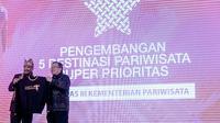 Menpar Arief Yahya dan Kepala Bappenas Bambang Brodjonegoro menghadiri Rakornas Pariwisata III di Jakarta. (dok. Biro Komunikasi Publik Kemenpar/Dinny Mutiah)