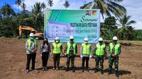 Kementerian PUPR membangun 1 tower rusun bagi anggota TNI yang bertugas di Makodam XIII/Mdk Kota Manado, Sulawesi Utara. (Dok PUPR)