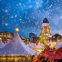 Pasar Natal di Eropa