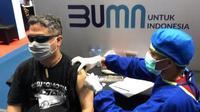 Blindman Jack vaksinasi disabilitas. Foto: Tangkapan layar TouTube Blindman Jack.