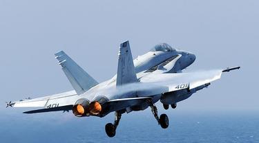 Jet Tempur F18 AS