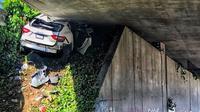 Kecelakaan Maserati (Instagram/oaklandchp)