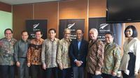 Lewat peran pemimpin muda, Indonesia dan Selandia Baru perkuat hubungan dari berbagai sektor di masa mendatang (Liputan6.com/Teddy Tri Setio Berty)