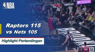 Paskal Siakam dan Kawhi Leonard bergabung dengan 54 poin saat Raptors mengalahkan Nets 115-105.