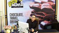 Kiki Gumelar, CEO PT Tama Cokelat Indonesia di ruang kerjanya (Liputan6.com/Jayadi Supriadin)
