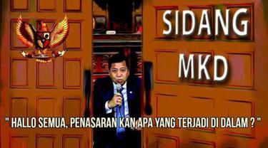 MKD menggelar sidang tertutup untuk mendengar kesaksian Setya Novanto. Sejumlah Netizen mencurahkan isi hati mereka dalam bentuk meme. Ini salah satunya. Penasaran kan? (twitter#MKDBobrok)