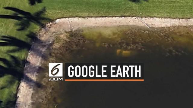 Seorang pria Amerika Serikat hilang selama 22 tahun hingga akhirnya ditemukan berkat bantuan Google Earth. Ia di temukan meninggal di dalam mobilnya yang tenggelam di sebuah danau.
