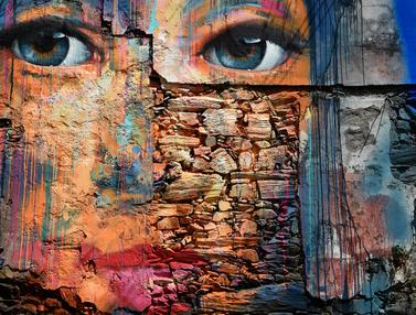 Melihat Ragam Mural Artistik di Festival Seni Jalanan Spanyol