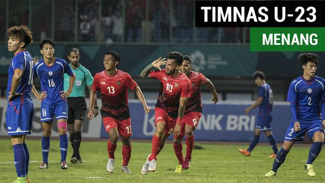 Berita Video Terpopuler 2018.Highlights Sepak Bola Putra, Chinese Taipei Vs Timnas Indonesia 0-4