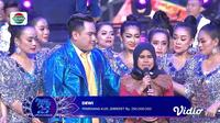 Momen Emosional Dewi, Pemenang Kuis Jebreeet Rp 250 Juta di Pesta Perak Luv Indosiar 25. sumberfoto: Indosiar