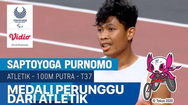 Berita video momen menegangkan saat Saptoyoga Purnomo mempersembahkan medali kedua untuk Indonesia di Paralimpiade Tokyo 2020, Jumat (27/8/2021) sore hari WIB.